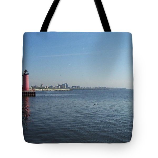 Harbor Entrance Tote Bag by Daniel Sheldon