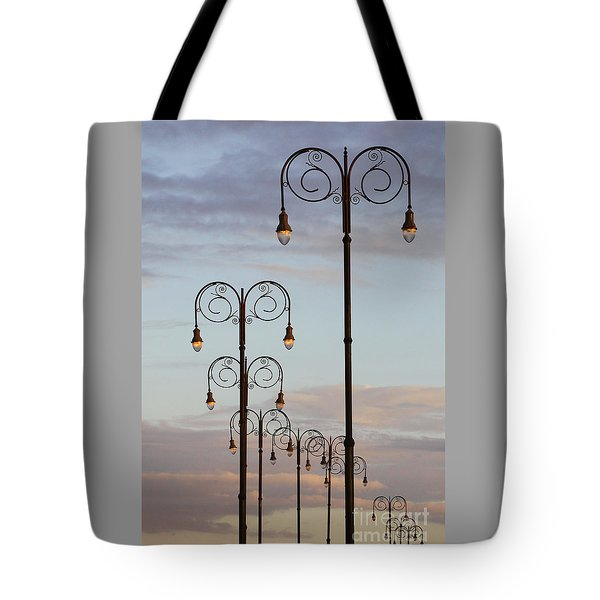 Harbor Lights Tote Bag
