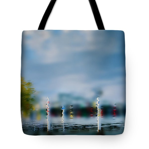 Harbor Reflections Tote Bag