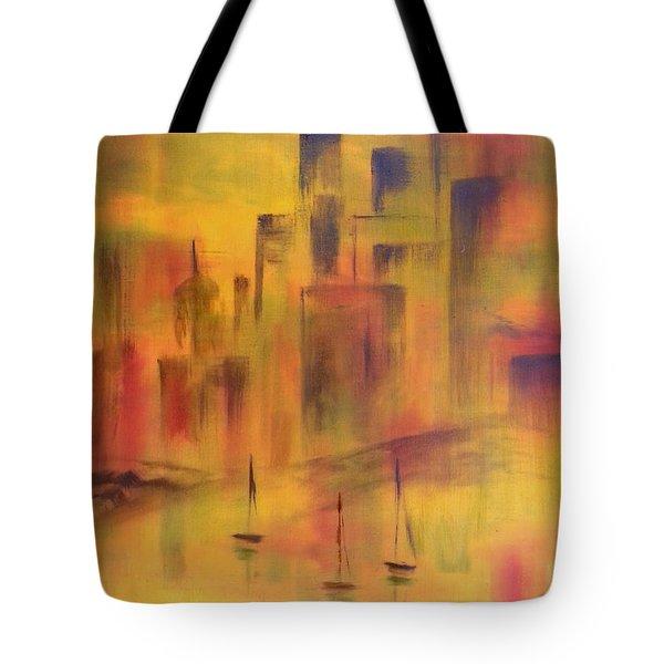 Harbor Sail Tote Bag