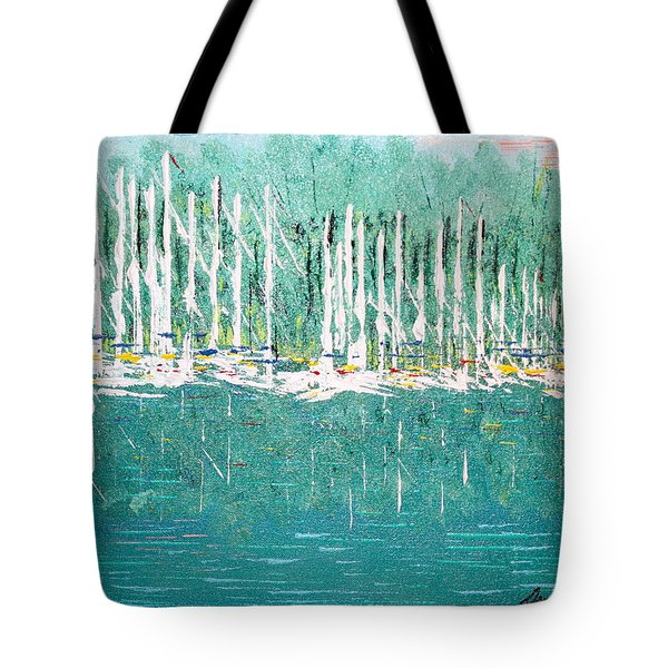 Harbor Shores Tote Bag