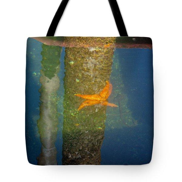 Harbor Star Fish Tote Bag