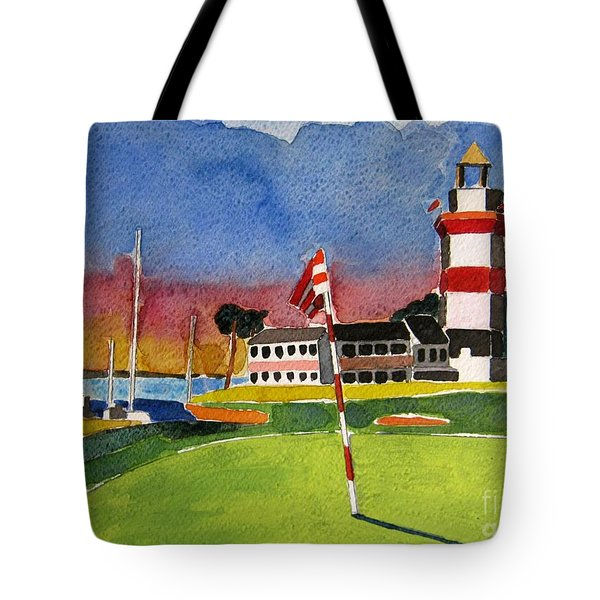 Harbour Town 18th Sc Tote Bag