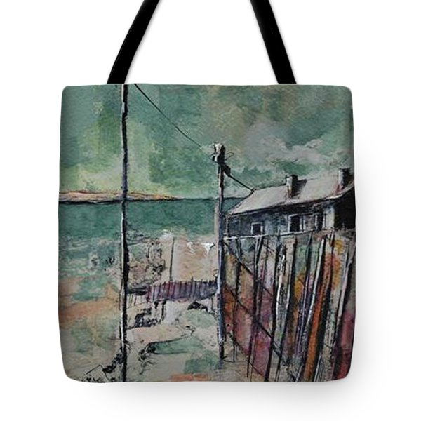 Harbormaster's Home Away From Home Tote Bag