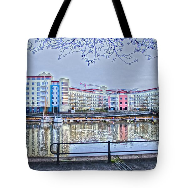 Harbourside Flats Tote Bag by Brian Roscorla