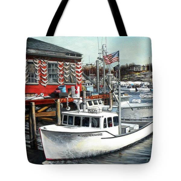 Hard Merchandise Rocky Neck Tote Bag