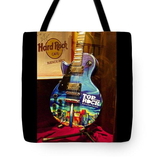 Hard Rock Electric Guitar Tote Bag