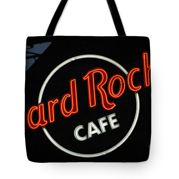 Hard Rock - St. Louis Tote Bag by Gary Gingrich Galleries