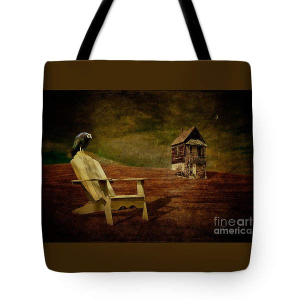 Hard Times Tote Bag by Lois Bryan