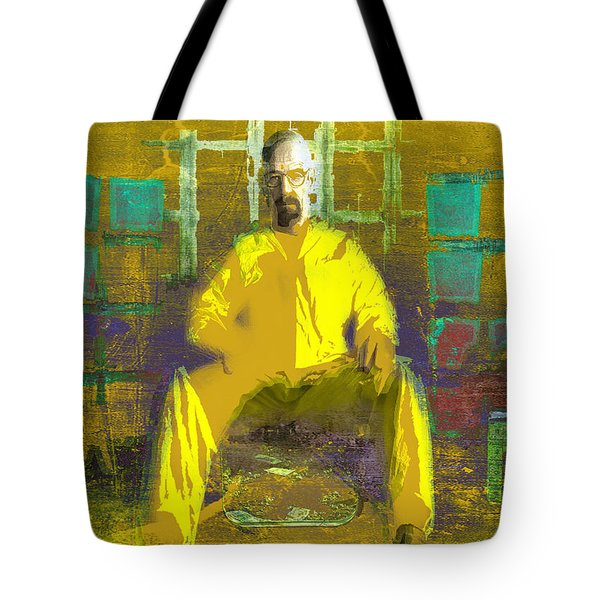 Tote Bag featuring the digital art Hard Work by Brian Reaves