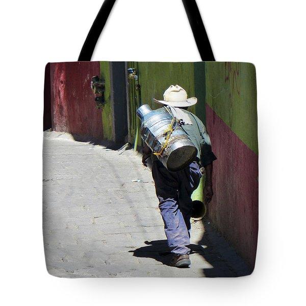 Hard Work Tote Bag by Douglas J Fisher