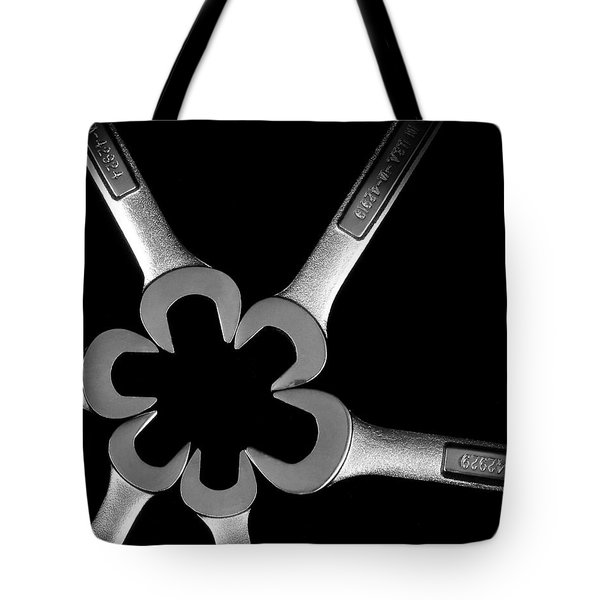 Hardware Bouquet Tote Bag