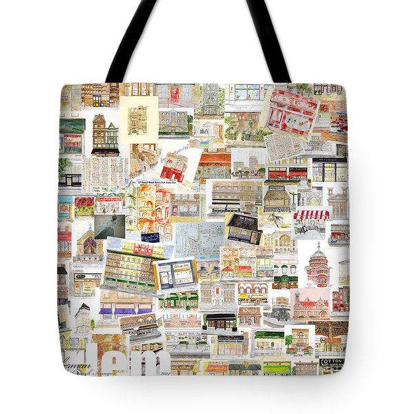 Harlem Collage Of Old And New Tote Bag