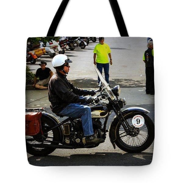 Harley 9 Tote Bag