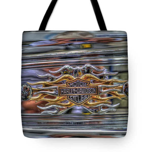 Harley Badge Tote Bag