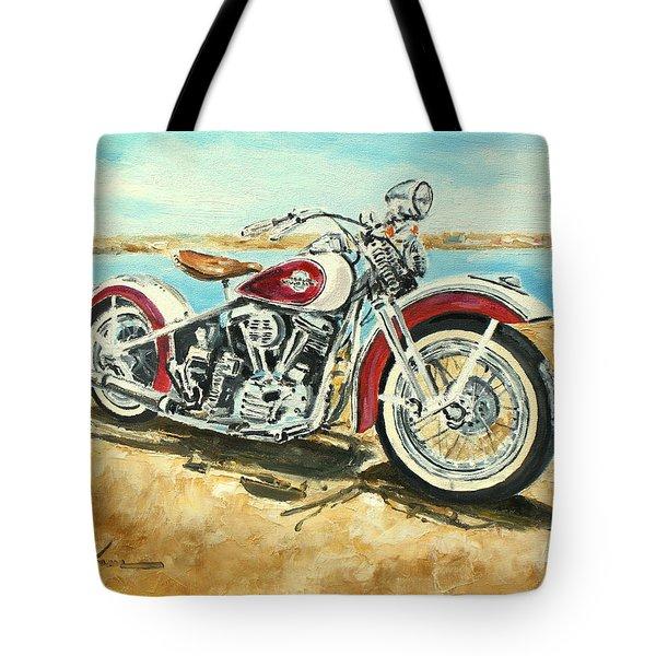 Harley Davidson 1960 Tote Bag