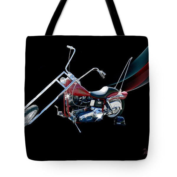 Tote Bag featuring the photograph Harley by Ericamaxine Price