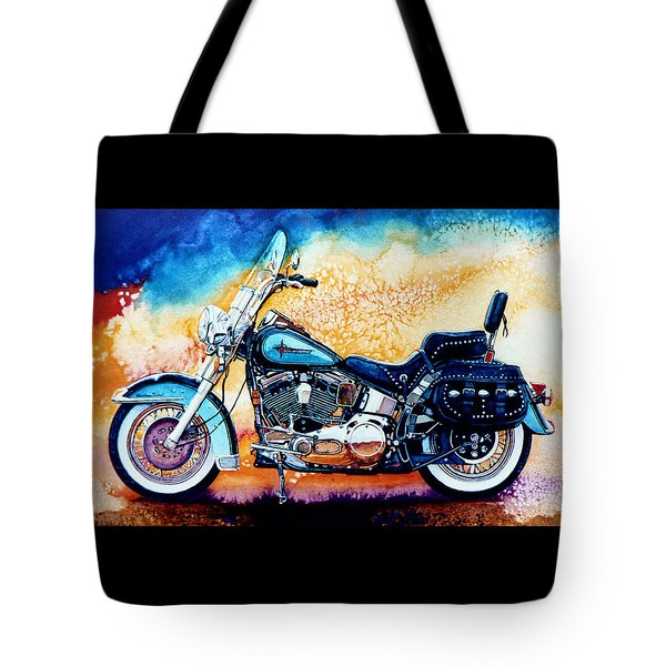 Harley Hog I Tote Bag by Hanne Lore Koehler