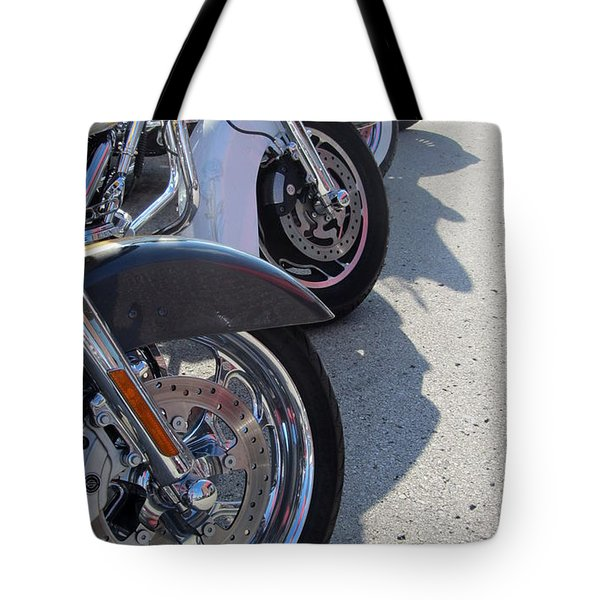 Harley Line Up 1 Tote Bag