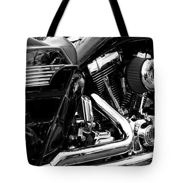 Harley Tote Bag by Michelle Calkins