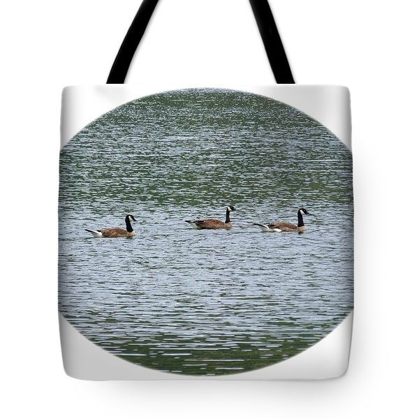 Harmonious Canada Geese Tote Bag by Will Borden