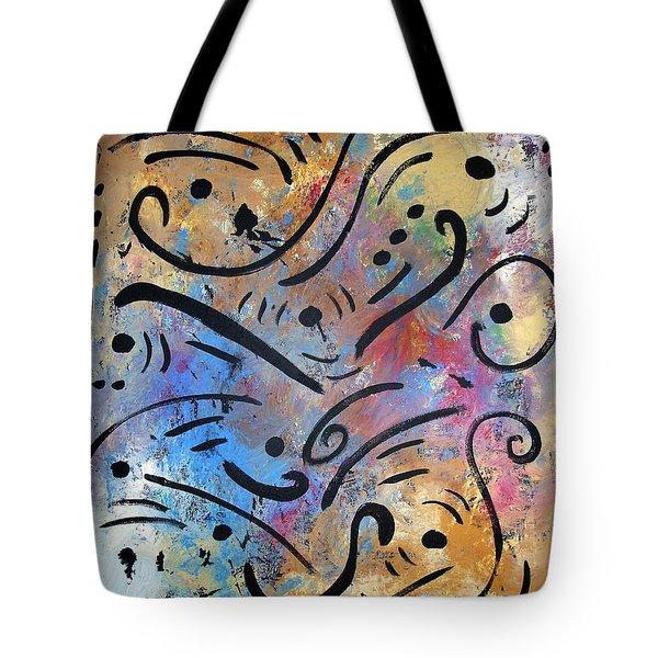 Harmony And Rain Tote Bag by Venus