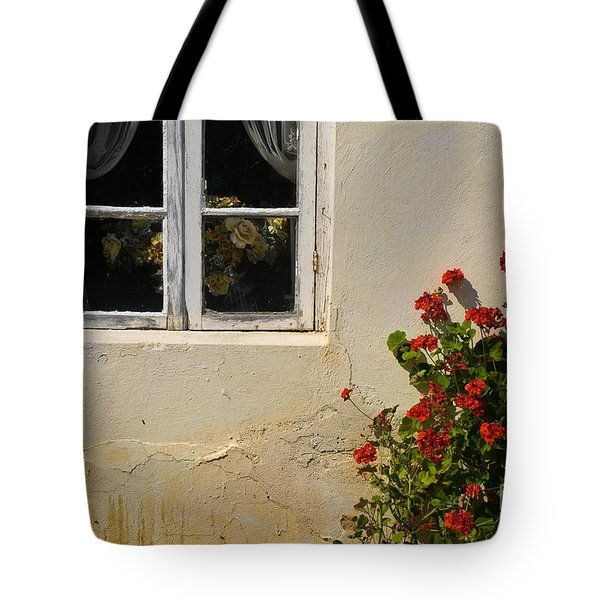Flower Talk Tote Bag