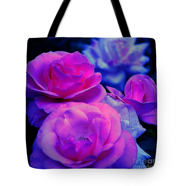 Tote Bag featuring the photograph Harmony In Color by Clayton Bruster