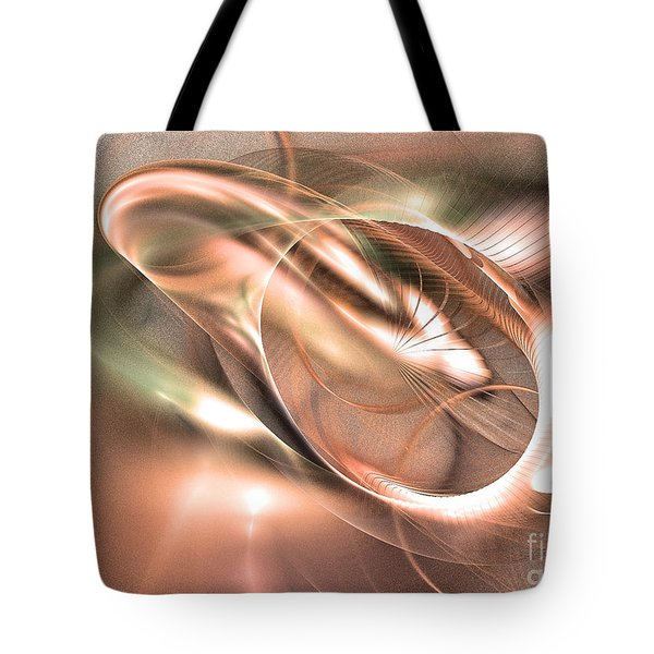 Harmony Of Thebes -abstract Art Tote Bag