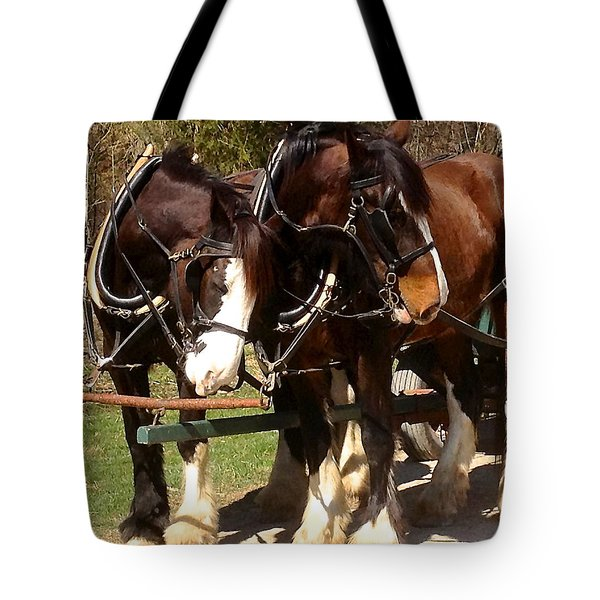 Harness Partners Tote Bag