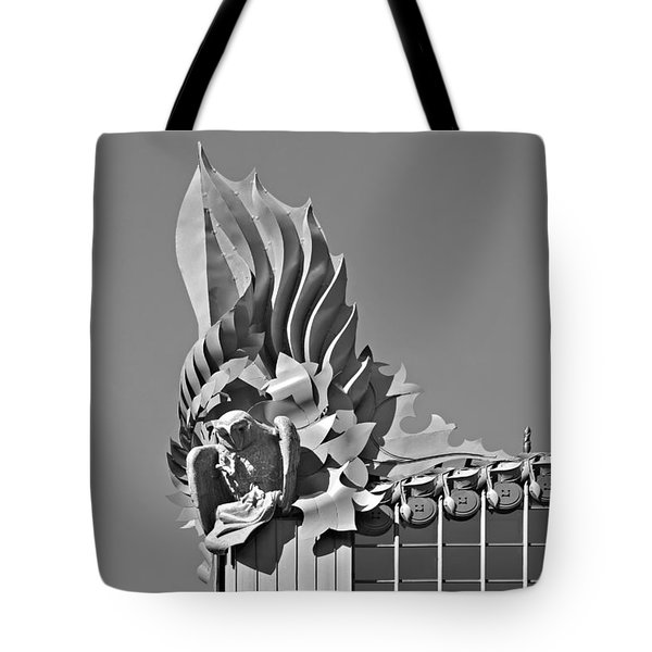 Harold Washington Library Chicago Tote Bag by Christine Till