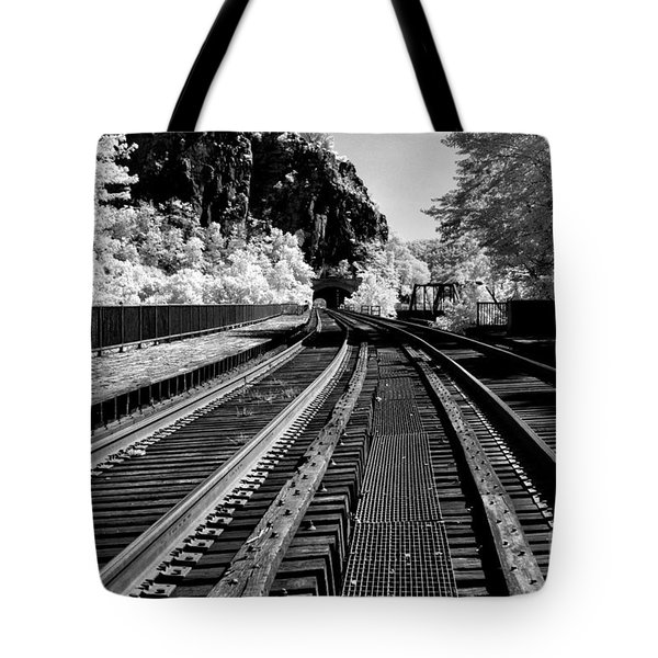Harpers Ferry Main Line Tote Bag