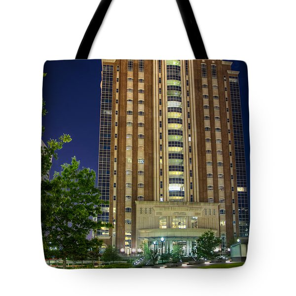 Harris County Civil Courthouse Tote Bag