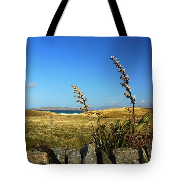 Harris Outer Hebrides Tote Bag by The Creative Minds Art and Photography