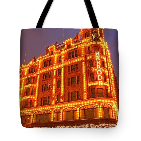 Tote Bag featuring the photograph Harrods 3 by Mariusz Czajkowski
