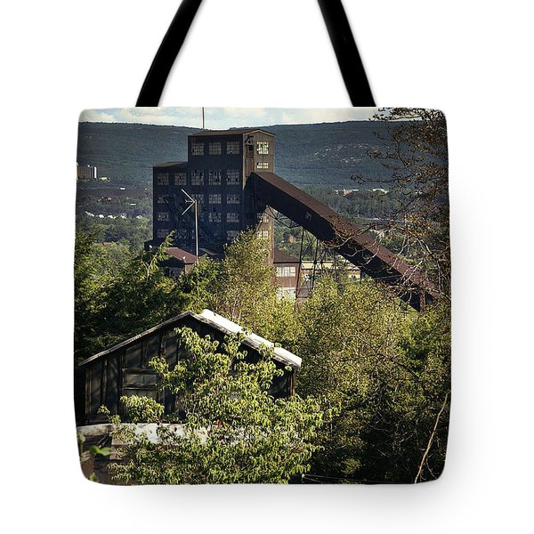 Harry E Colliery Swoyersville Pa Summer 1994 Tote Bag