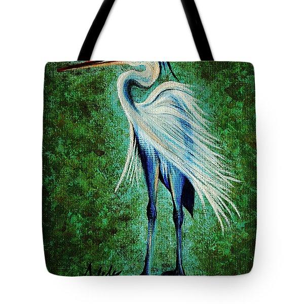 Harry Heron Tote Bag by Adele Moscaritolo