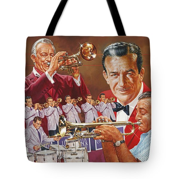 Harry James Trumpet Giant Tote Bag