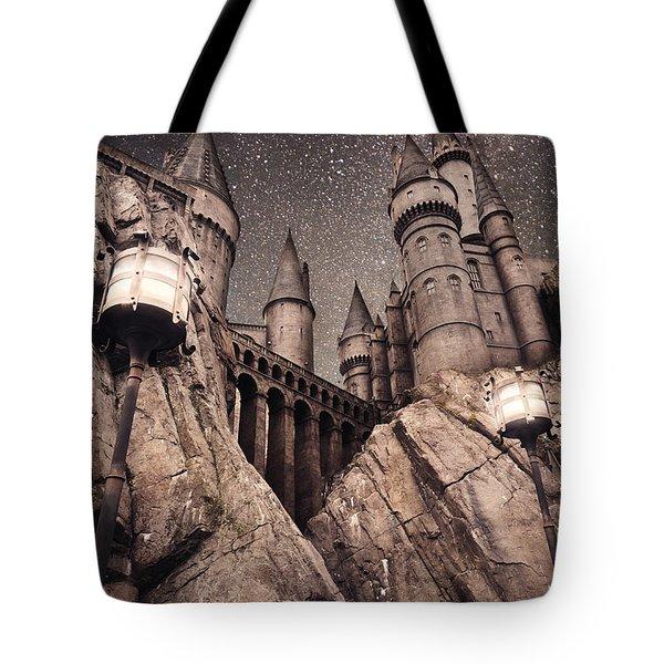 Hogwarts Castle Harry Potter Tote Bag