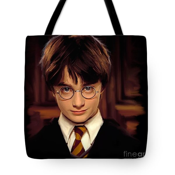 Harry Potter Tote Bag by Paul Tagliamonte