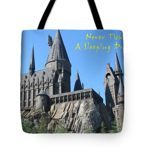 Harry's Hogwarts Tote Bag