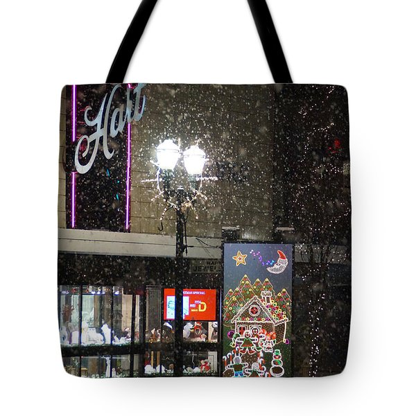 Hart In The Snow - Grants Pass Tote Bag by Mick Anderson