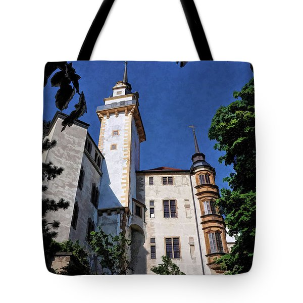 Hartenfels Castle - Torgau Germany Tote Bag