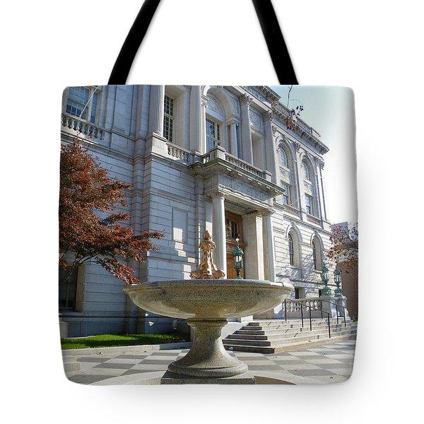 Hartford Historical Building Tote Bag