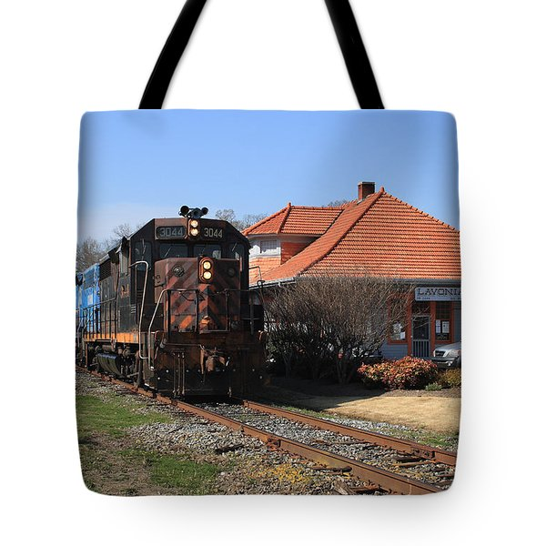 Hartwell Railroad Tote Bag