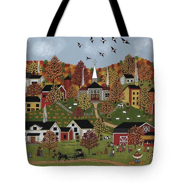 Harvest Celebration II Tote Bag by Medana Gabbard