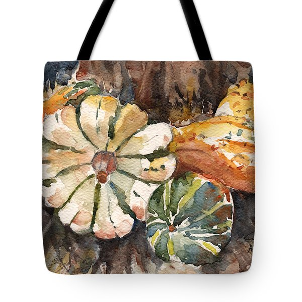 Harvest Gourds Tote Bag