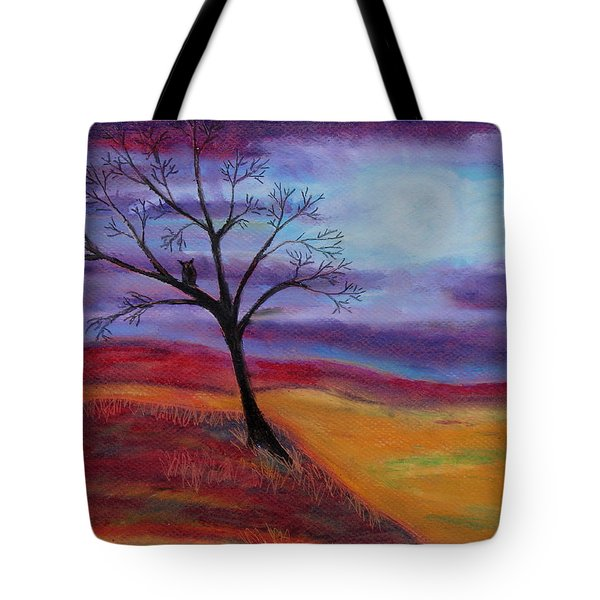 Harvest Moon 2 Tote Bag by Jeanne Fischer