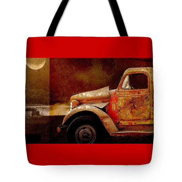 Harvest Moon Tote Bag by Holly Kempe