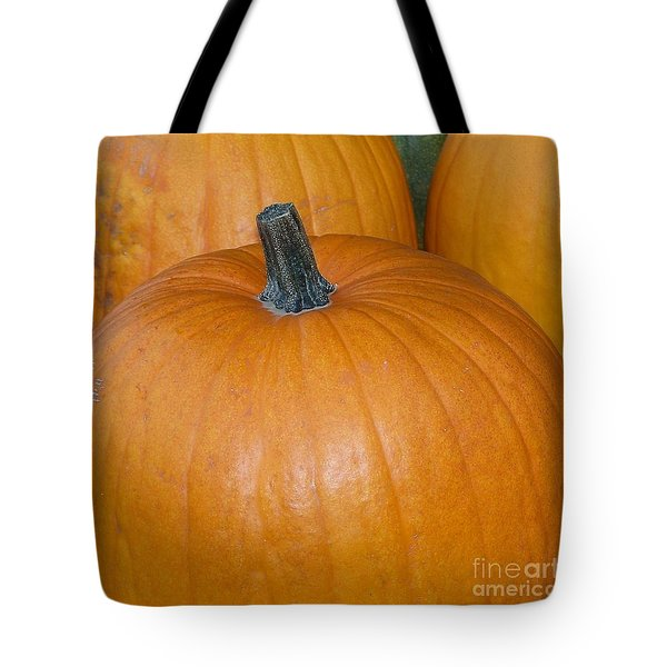 Tote Bag featuring the photograph Harvest Pumpkins by Chalet Roome-Rigdon